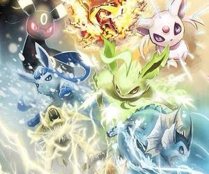 pokemon, eevee, and espeon image