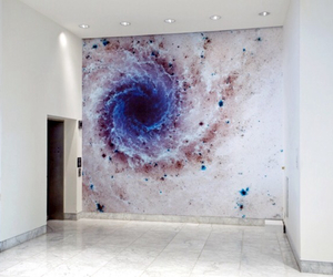 art, galaxy, and painting image