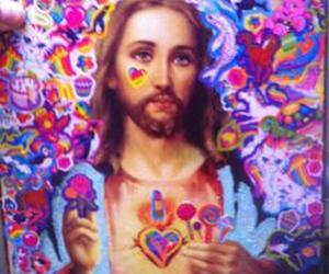 aesthetics, art, and jesus image