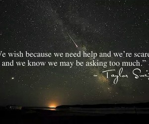 Taylor Swift, quote, and wish image