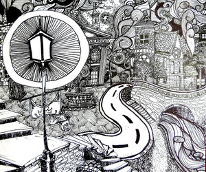 art, cool, and doodle image