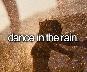 dance, rain, and life image