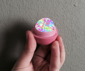 colorful, eos, and lip balm image