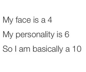 funny, personality, and face image