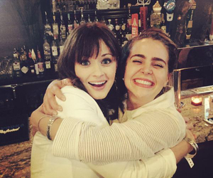alexis bledel and mae whitman image