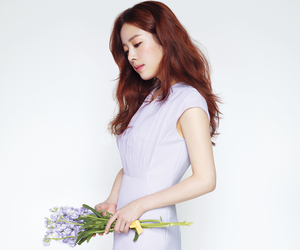 korean actress, han ji min, and kactress image