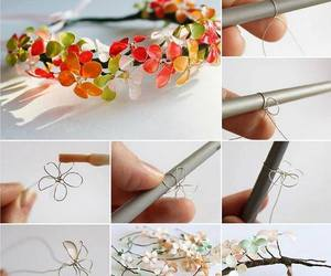 diy, flowers, and nail polish image