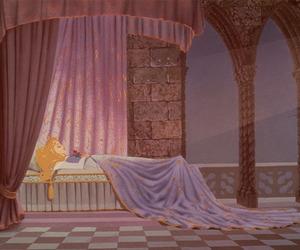 sleeping beauty, disney, and princess image