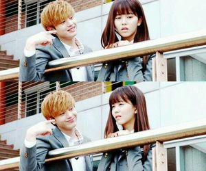 school 2015, couple, and who are you image