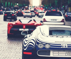 car, bugatti, and luxury image