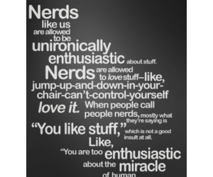 john green, nerd, and quote image