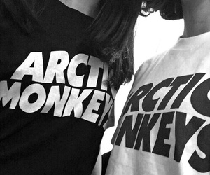 arctic monkeys, grunge, and band image