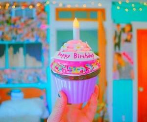 cupcake, birthday, and tumblr image