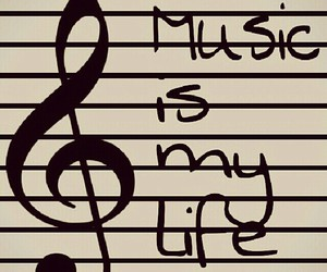 music, life, and forever image