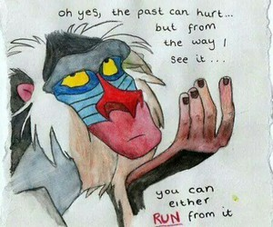 quote, learn, and the lion king image