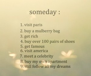 someday, Dream, and paris image