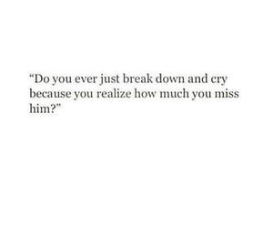 sad, cry, and him image