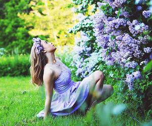 alone, beautiful, and dress image