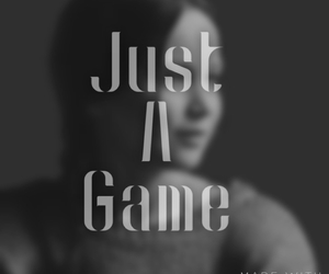 just, the game, and the hunger games image