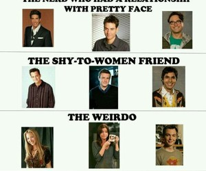 how i met your mother, friends, and the big bang theory image