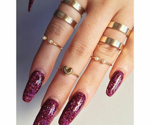 accessories, beautiful, and nails image