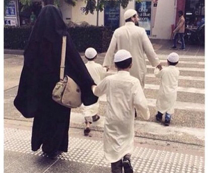 islam, family, and muslim image