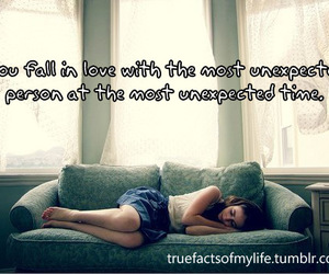 fall in love, life, and text image