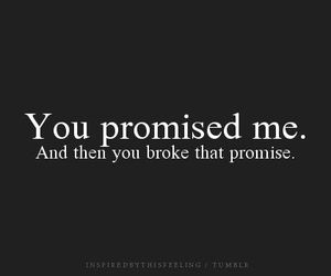 promise, sad, and broken image