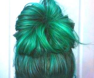hair, bun, and girly image