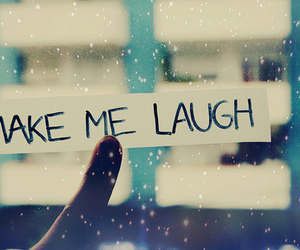 message and make me laugh image