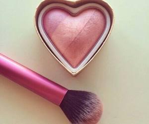 make up, blush, and heart image