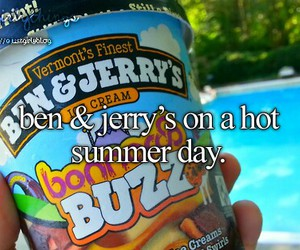 summer, justgirlythings, and ice cream image
