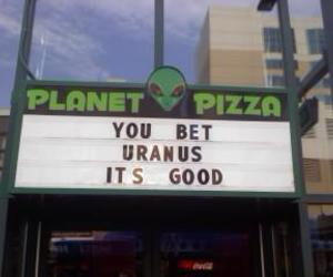pizza, alien, and grunge image