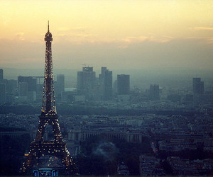 paris, eiffel tower, and city image