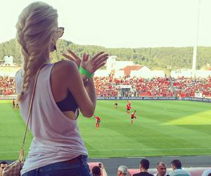 football, ♥, and albania image