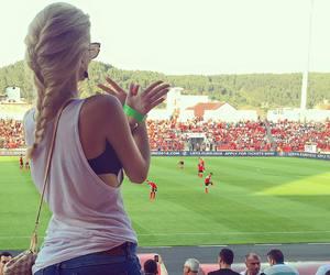 football and luana vjollca image
