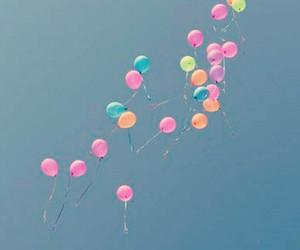 ballon, pink, and wonderful image