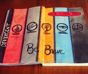 divergent, art, and wreck this journal image