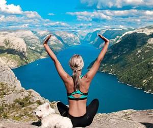fitness, motivation, and yoga image