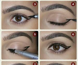 eyes, fashion, and make-up image