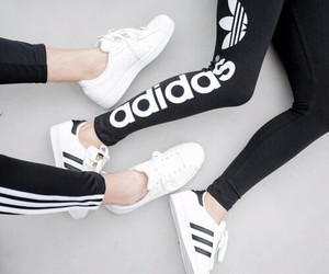 adidas, clothes, and sport image