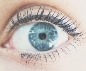 big, blue, and eye image