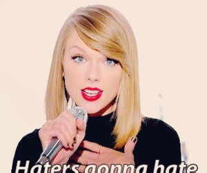 Taylor Swift, haters, and shake it off image