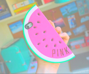pastel, watermelon, and vibrant image