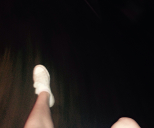 amusement park, legs, and rollercoaster image