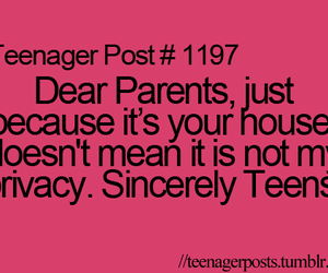 parents, text, and house image