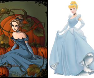 cinderella, disney, and girl image