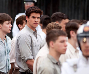 the hunger games, gale, and hunger games image