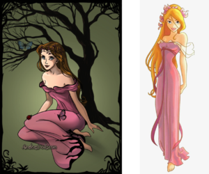 disney, girl, and giselle image