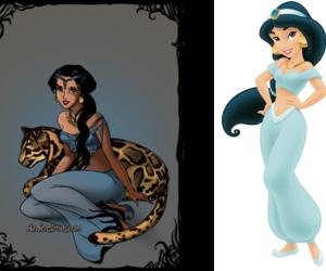 disney, girl, and jasmine image